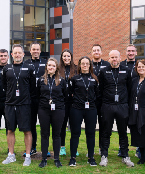 The Sport & Public Services Team, Stafford College